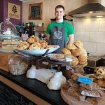 Counter loaded with tasty treats!