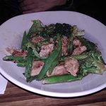 Verduras con pollo