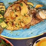 Lemon Potato Fish, delicious!