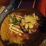 Seafood Enchilada
