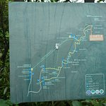 trail map from the other part of the park (where the cables starts)