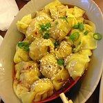 Seamed dumplings