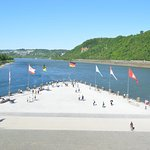 Deutsches Eck (German Corner) Foto
