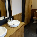 new and large toilet facilities