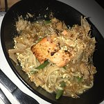 Chargrilled Salmon with Soba Noodles & Green Beans