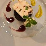 Sinfully Delicious Lava Cake w/House Made Pistachio Ice Cream