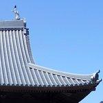 福厳寺屋根の造形美