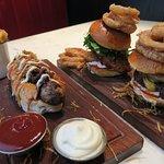 British Hotdog, Southern Fried Chicken Burger, F36 burger