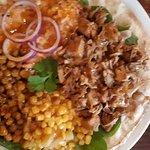 Jackfruit shawarma