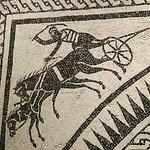 Mosaico di epoca romana. Particolare