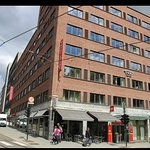 Cafe Europe is in the same building as Thon Europe in downtown Oslo