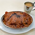 Macanese Baked Pork Chop with rice (HKD53)