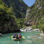 Rafting dans les gorges du Verdon