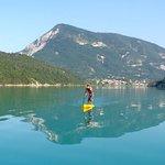 Stand Up Paddle sur le lac de Castillon