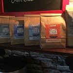 A full range of our own branded loose leaf tea always available