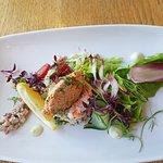 Dressed Crab and Scottish Salmon