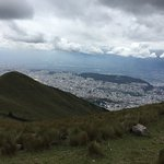 Quito in the valley