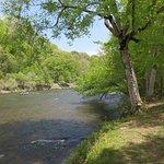River behind Na-Bers