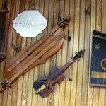 Rainbow Cafe Mtn View Ark.antique musical instruments..(e) by Carl H. =)~