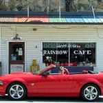 Rainbow Cafe Mtn View Ark..street parking (f) by Carl H. =)~