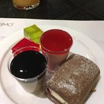Jelly, mousses, swiss roll