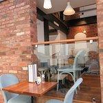 Nice interior dining area at Huffkins - Stratford upon Avon (03/May/18)