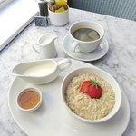 A healthy breakfast at Huffkins - Stratford upon Avon (03/May/18)