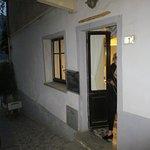 side entrance to upper dining room
