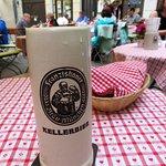 A nice pint of Kellerbier at Zum Alten Markt (08/May/18).