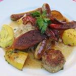 """The very tasty """"Chefs Special"""" at Zum Alten Markt (08/May/18)."""