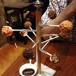 Lollipop Tree (with amazing Bubble Gum Whipped Cream!) Dessert at The Edison