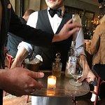 making a martini