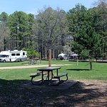 Nice spacing between campers