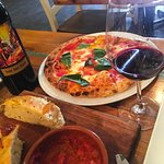 The Trifecta Big Easy, Focaccia and Brick oven pizza