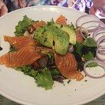 salade de saumon et avocat
