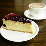 Blueberry Cheesecake... our specialty