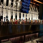 Draught beer selection is great!