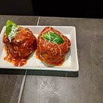 Delicious homemade meatballs...can be eaten by themselves, with pasta or as a superb sandwich!