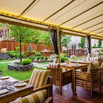 Enjoy a fabulous breakfast, lunch and dinner on the most coveted terrace in Montreal