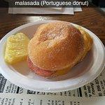 Hawaiian Breakfast Sandwich