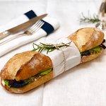 Baguette sandwiche