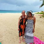Greta and Mrs. Derricks our vacation partners
