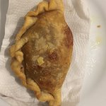 Argetinian empanada with meat.