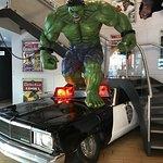 Bienevenida con Hulk