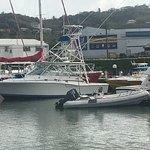 One of Exodus boat charter's fishing fleet
