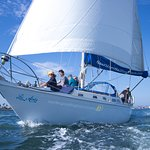 Sailing is perfect for family and friends!