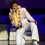 Front row at Elvis