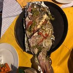 Red Snapper - we caught it & Fredy cooked it for us!