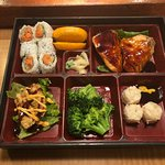Broadway Bento Box with Salmon