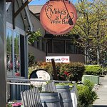 Mike's Cafe and Wine Bar at Friday Harbor, San Juan Islands, WA